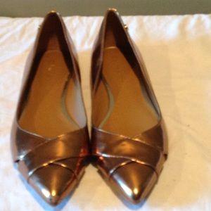 A pair of Calvin Klein shoes good condition